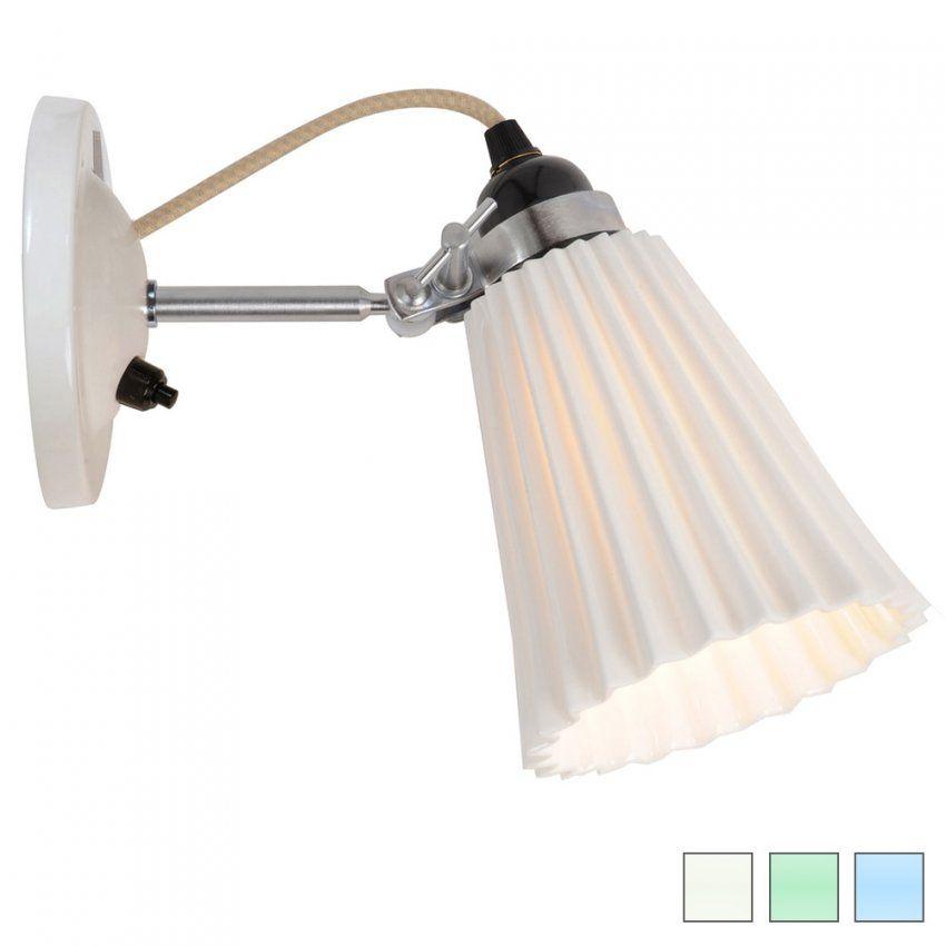 Kleine Wandlampe Mit Geriffeltem Porzellanschirm  Casa Lumi von Wandlampen Mit Schalter Und Kabel Photo
