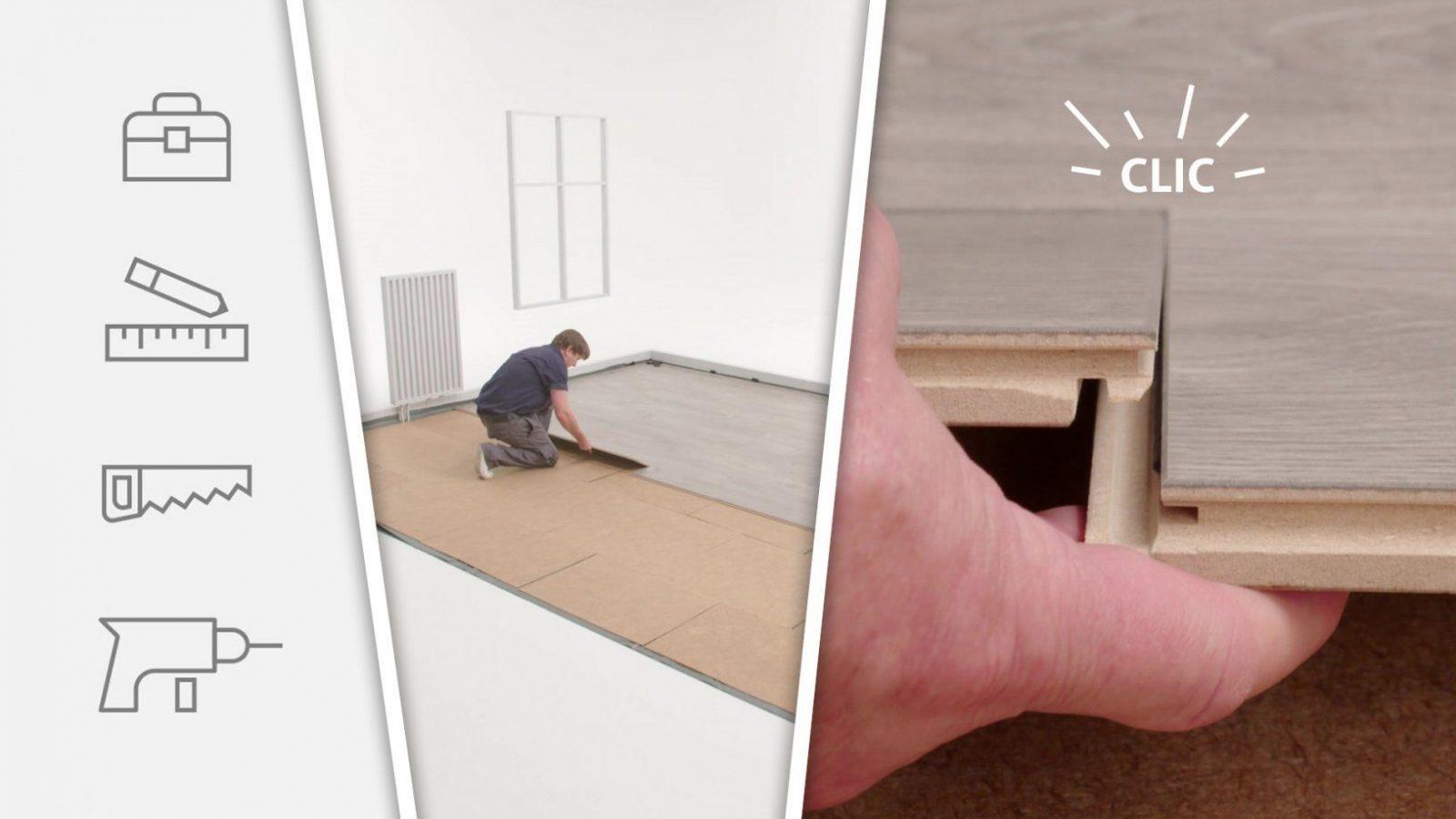 Klick Laminat Verlegen – Eine Anleitung  My Floor Laminat von Laminat Verlegen Anleitung Video Photo