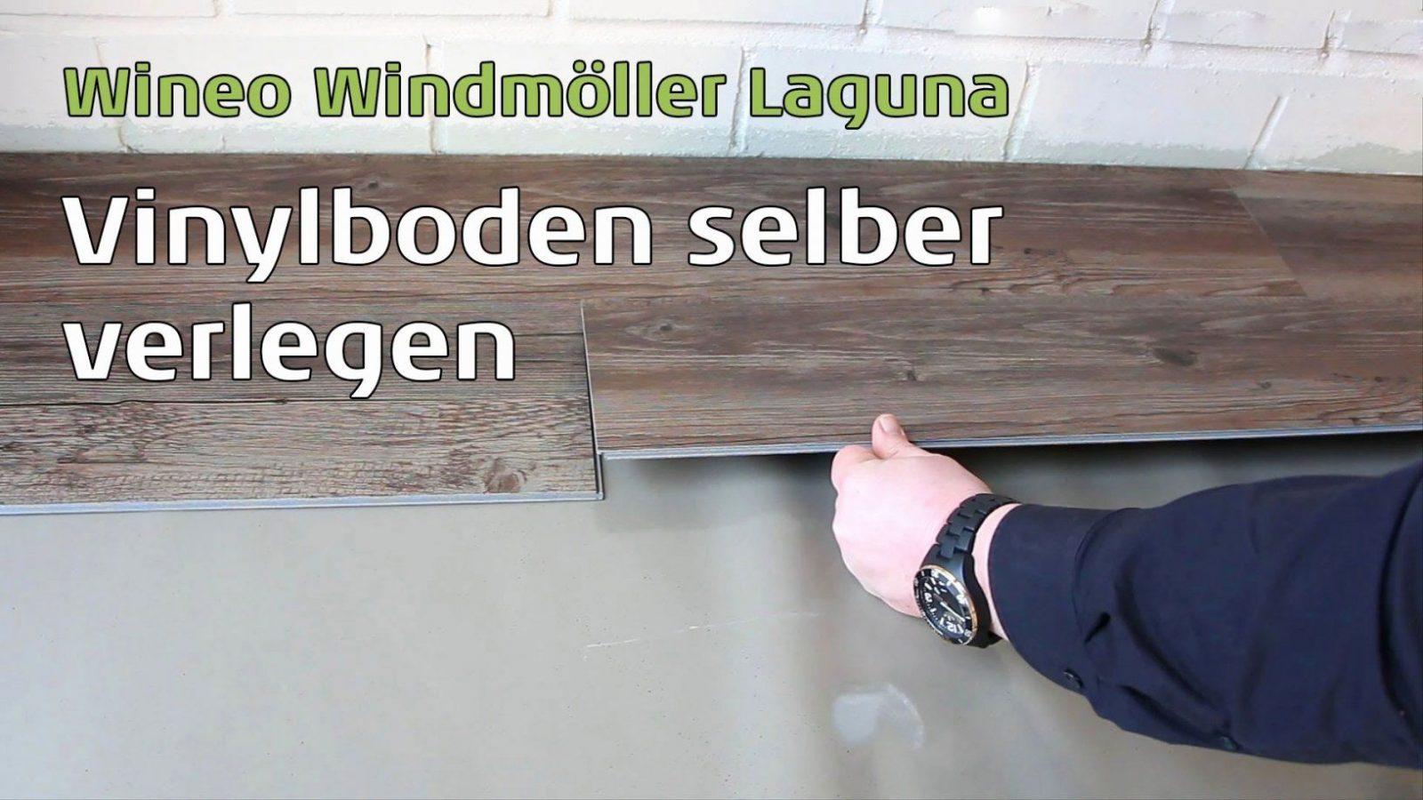 Klick Vinylboden Auf Fliesen Verlegen Frisch Wineo Windmöller Laguna von Vinyl Auf Fliesen Legen Bild