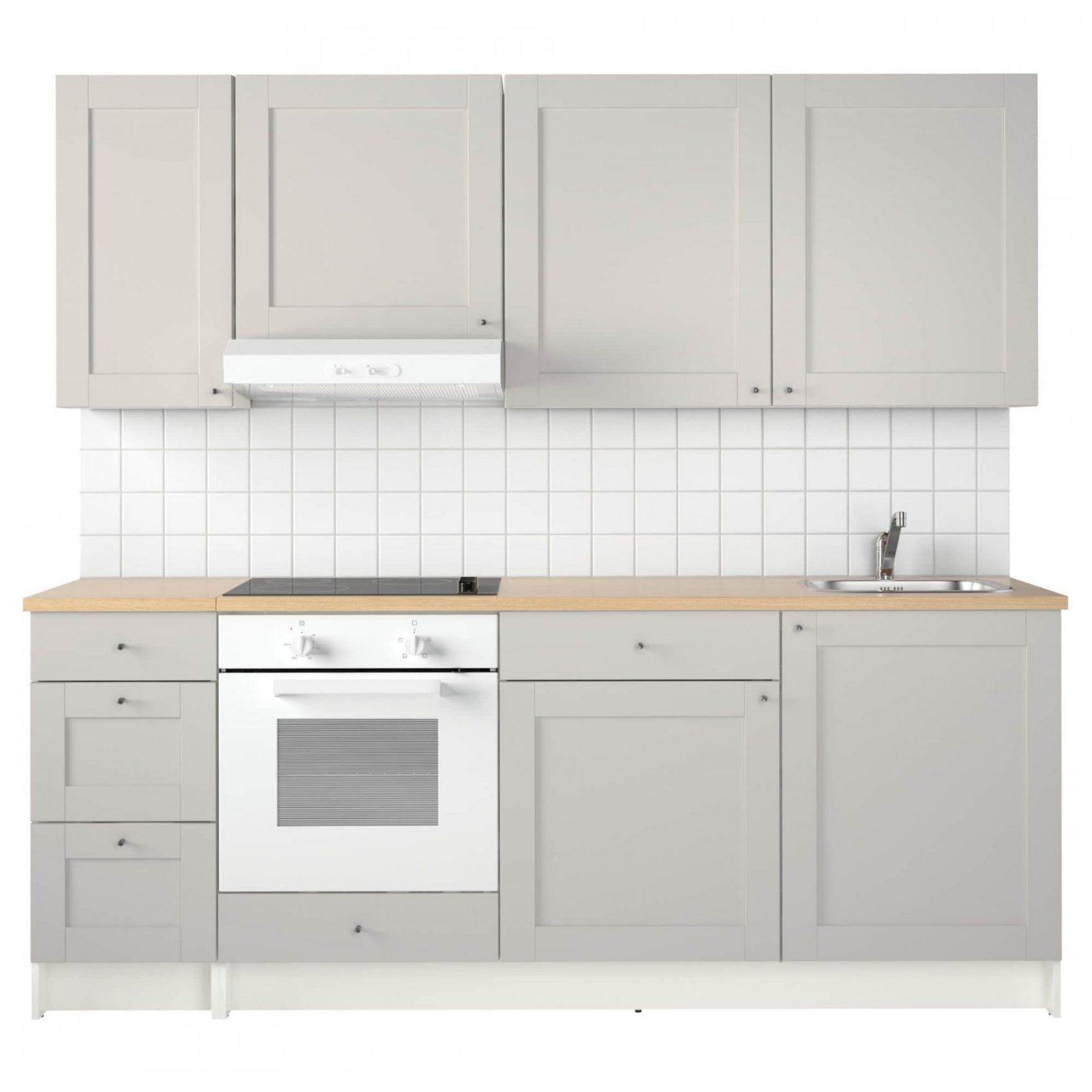 Knoxhult Küche  Ikea von Ikea Küchenzeile Mit Elektrogeräten Photo