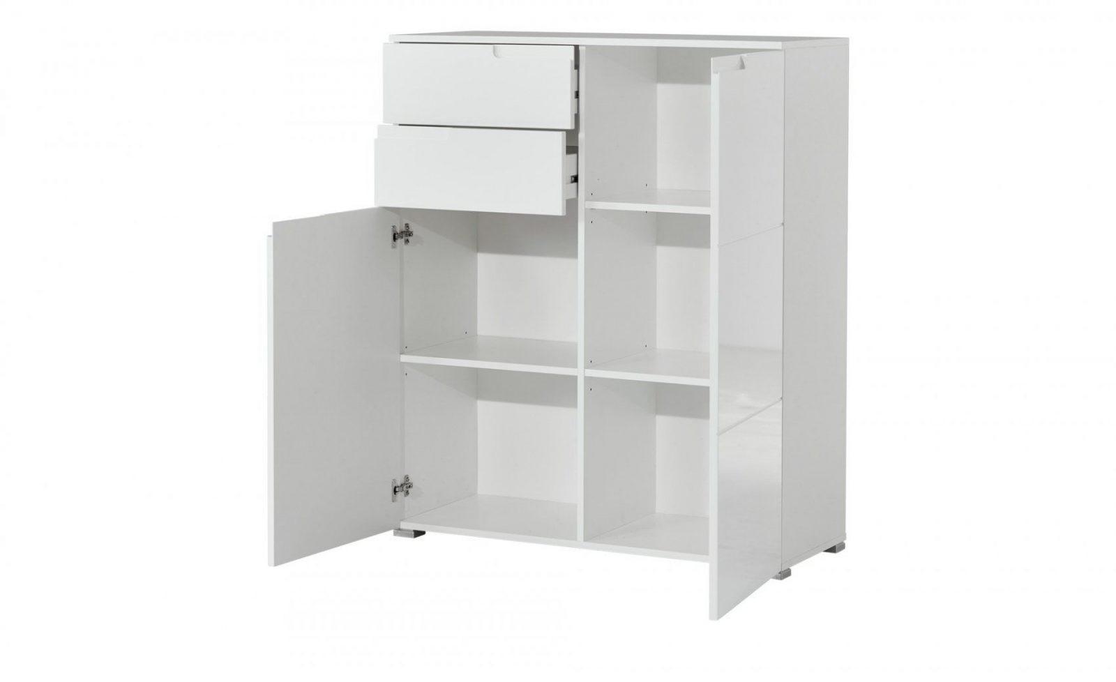 Kommode Weiß Breit 100 Cm  Bei Möbel Kraft Online Kaufen von Schrank 90 Cm Breit Bild