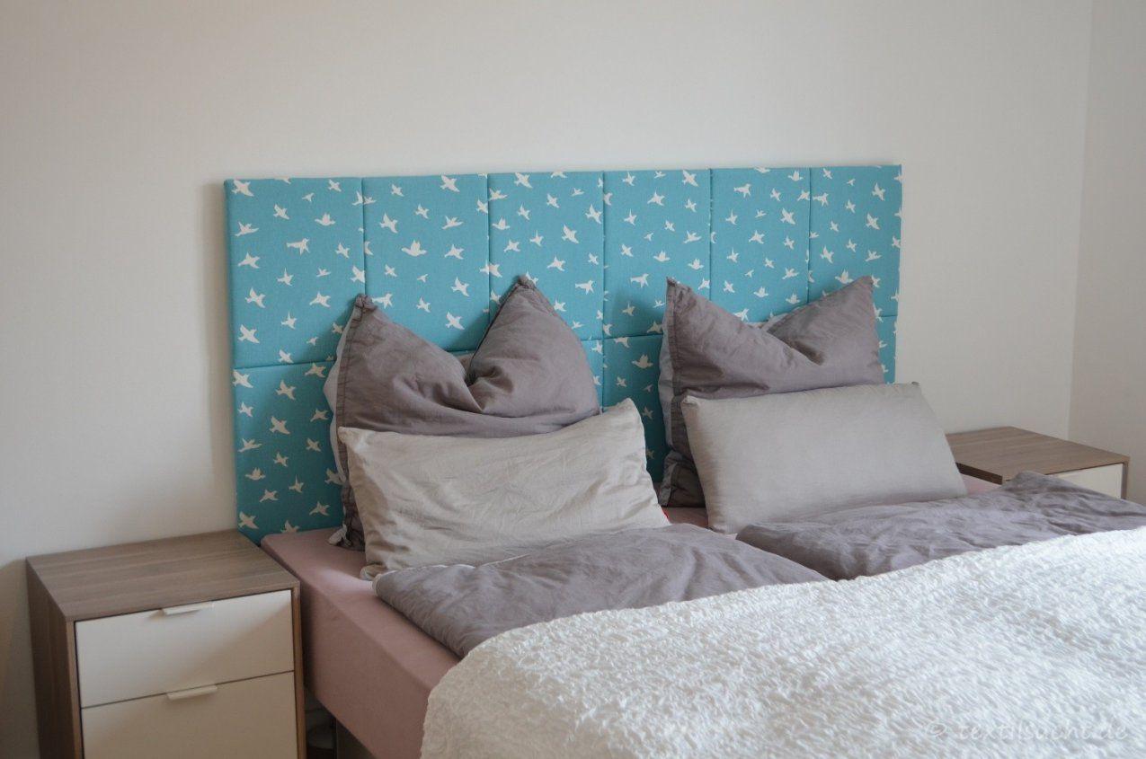 Kopfteil Für's Bett Selber Bauen  Textilsucht® von Wasserbett Kopfteil Selber Bauen Photo