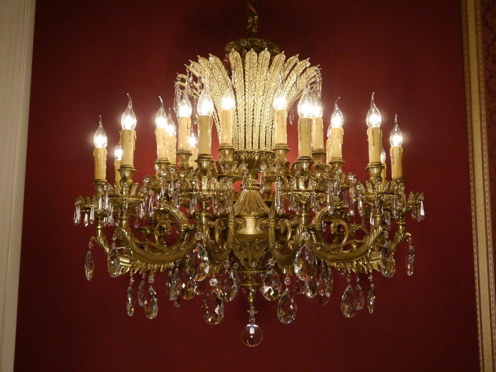 Kristall Kronleuchter Antik  Die Schönsten Einrichtungsideen von Kronleuchter Antik Günstig Gebraucht Bild