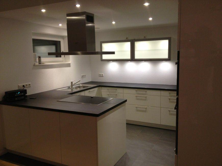Küche Fertig Hauseingangstreppe Gebaut  Unserschwoererhaus von Led Spots Decke Küche Photo