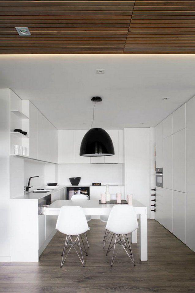 Küche In Uform Planen  50 Ideen Und Tipps von Küchen U Form Mit Kochinsel Photo