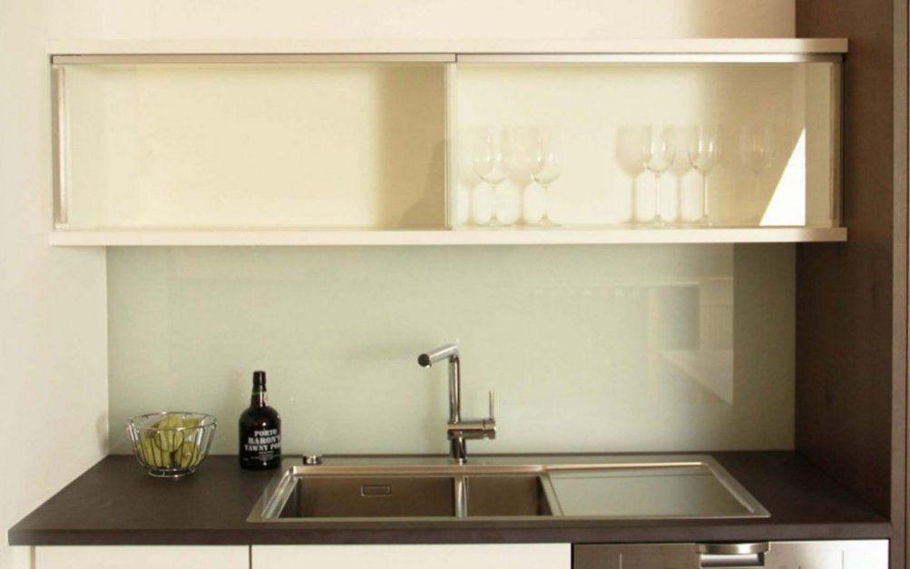 Küche Mit Glastüren  Beer Küchenmanufaktur von Küchen Hängeschrank Mit Schiebetüren Photo