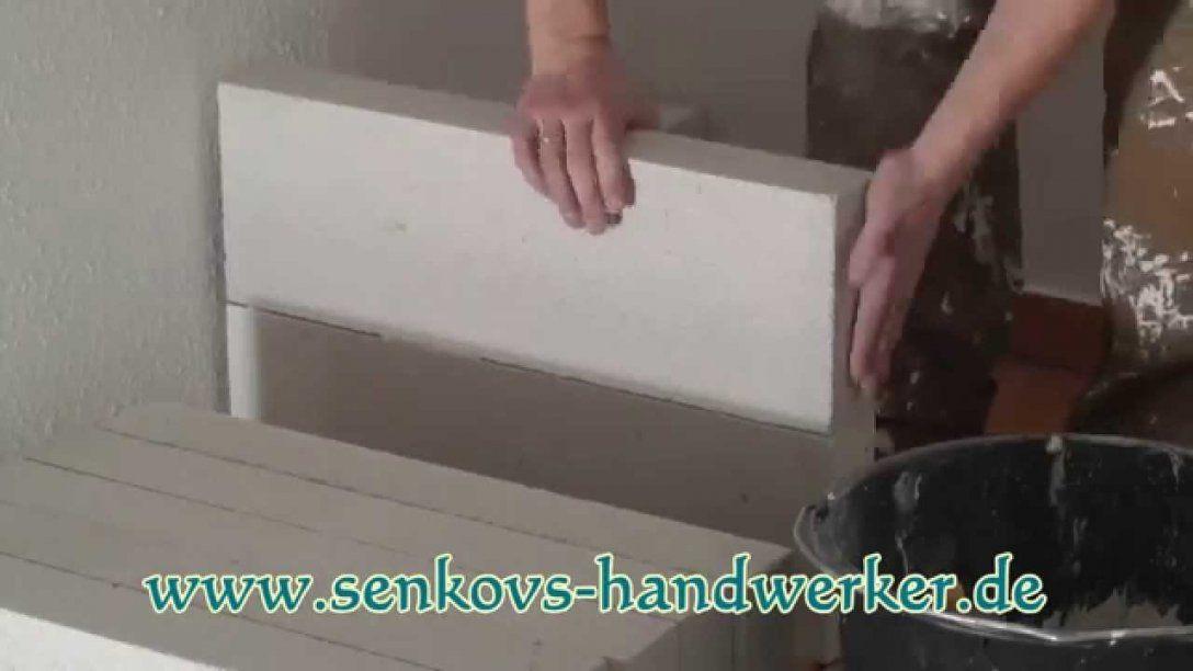 Küche Selber Bauen Bauanleitung Ytong Porenbeton Steine  Youtube von Küche Selber Bauen Ytong Bauanleitung Bild