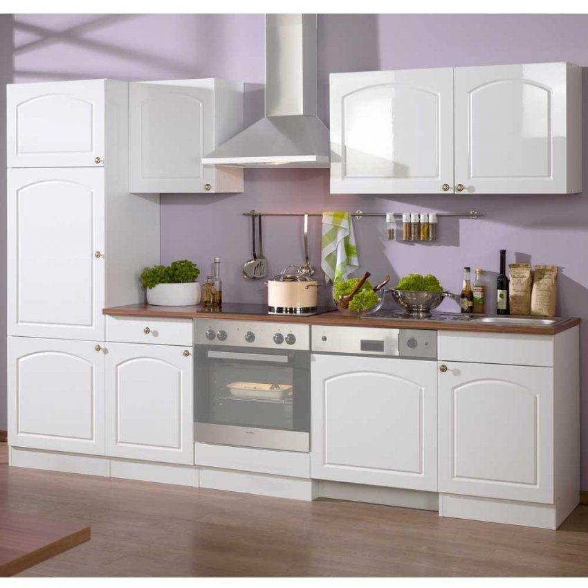 Küchen Mit Hochglanzmöbeln Günstig Online Kaufen  Wohnen von Küchenzeile Weiß Hochglanz Günstig Bild