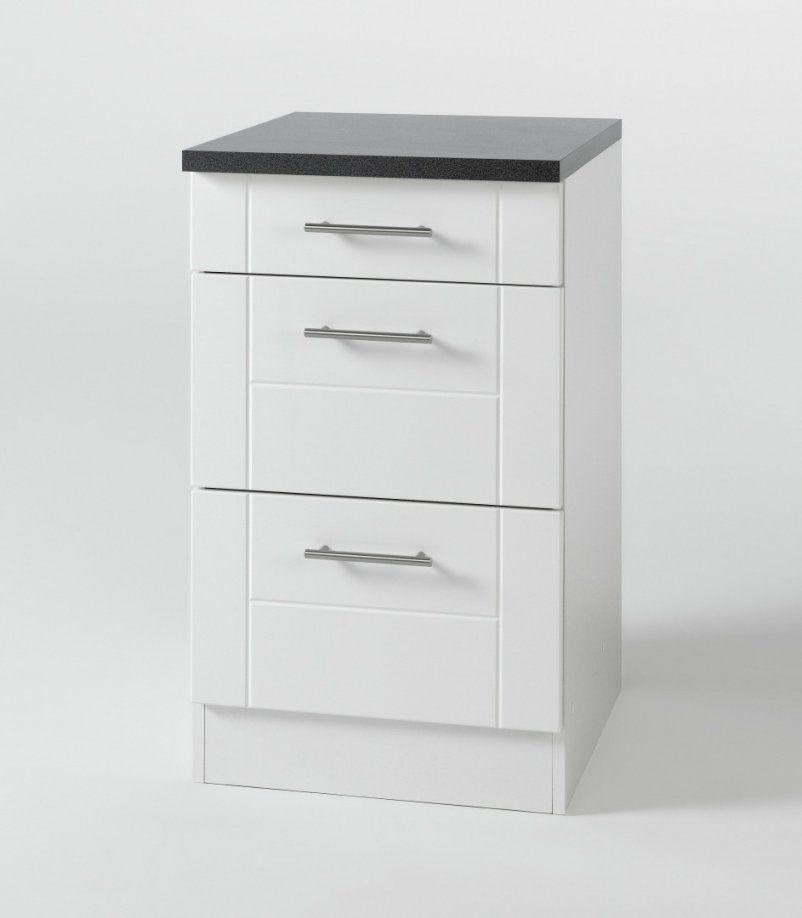 Küchen Unterschrank Schubladen  Ambiznes von Unterschrank Küche 50 Cm Breit Bild