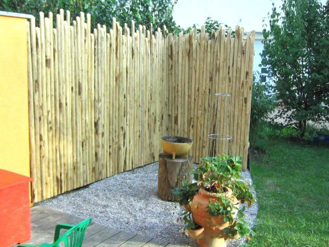 Küchenfronten Reinigen Holz Großartig Sichtschutz Aus Holz von Günstiger Sichtschutz Selber Bauen Bild