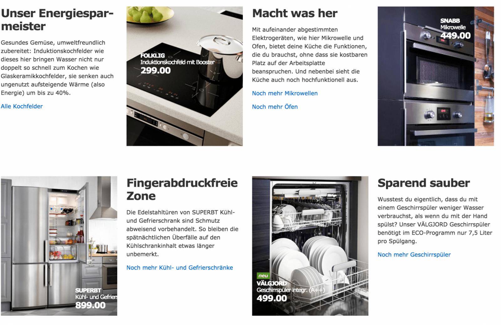 Küchenkauf Bei Ikea Erfahrungen Mit Der Onlineküchenplanung von Ikea Küchenzeile Mit Elektrogeräten Bild