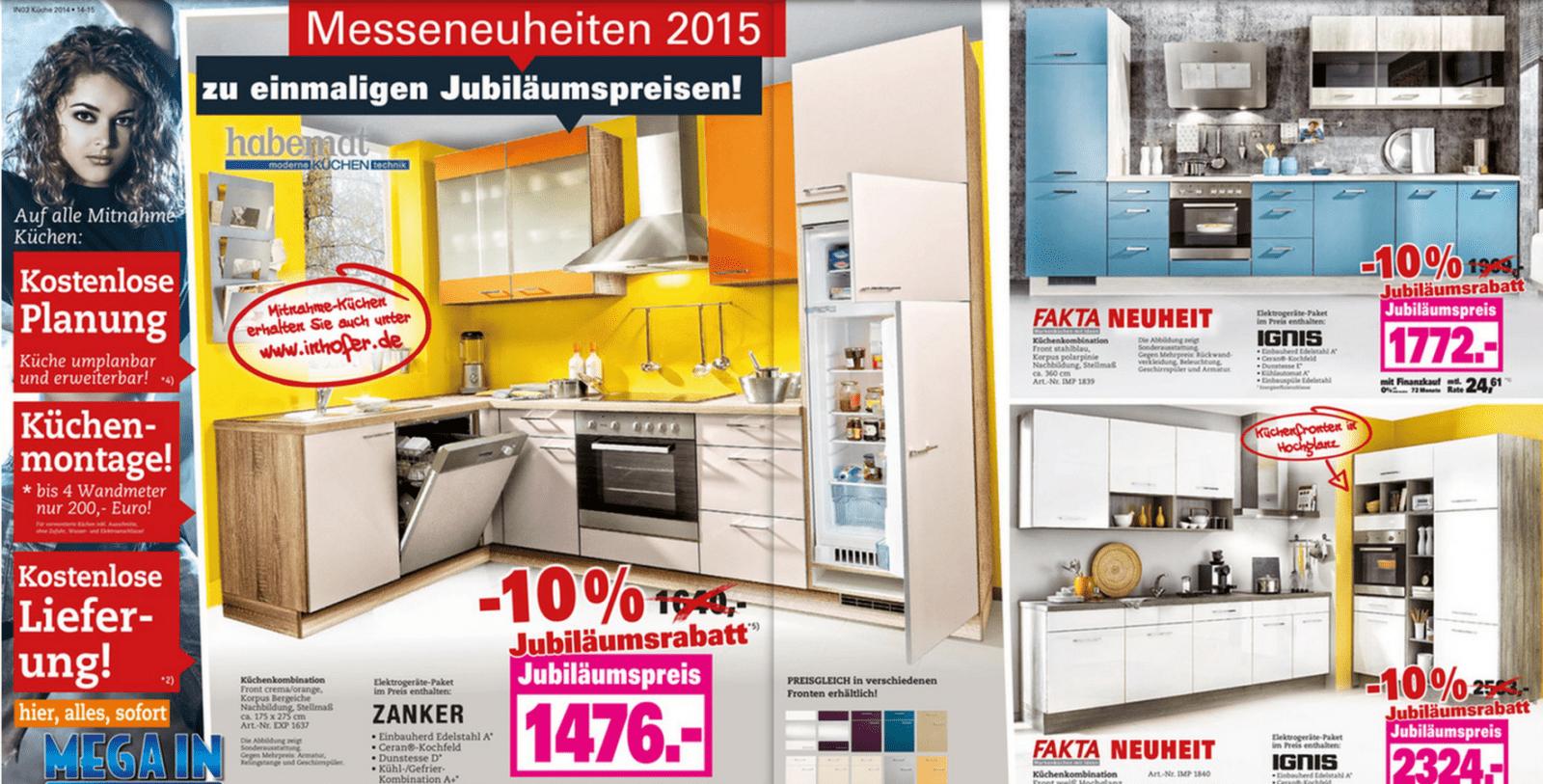 Küchenkauf Das Märchen Von Der Günstigen Küche Aus Dem Möbelhaus von Küche Unter 1000 Euro Bild