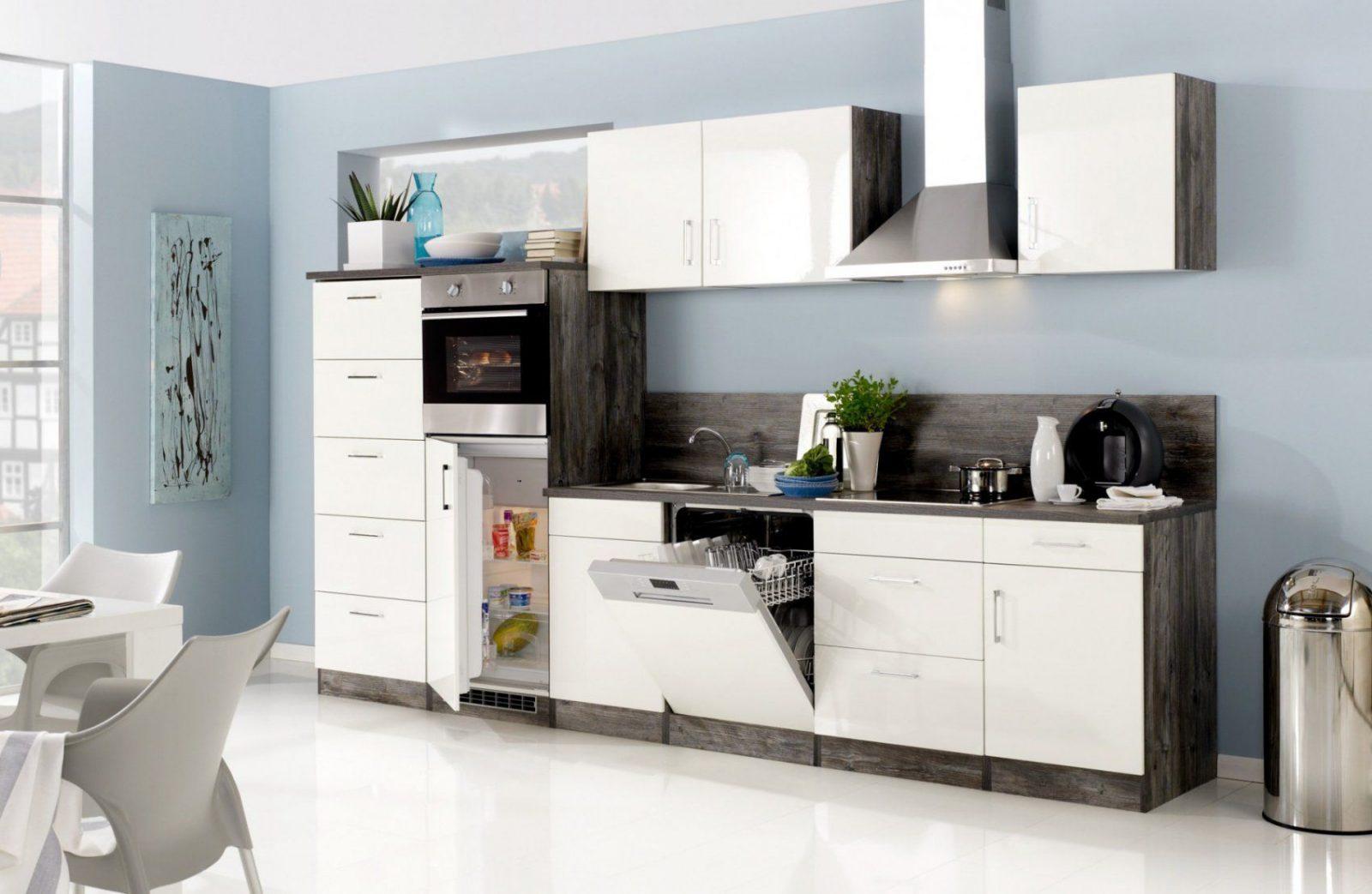 Küchenzeile Lissabon  Küche Mit Egeräten  Breite 340 Cm von Küche Mit E Geräten Ohne Kühlschrank Bild