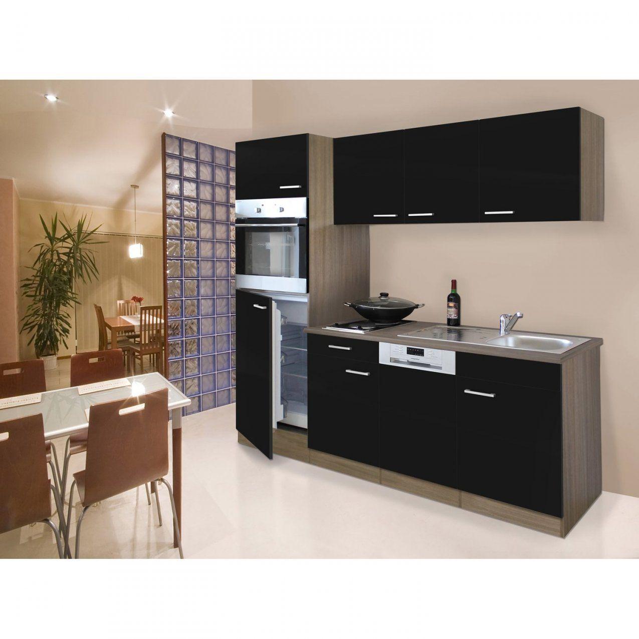Küchenzeilen & Miniküchen Günstig Online Kaufen Bei Obi von Küche Mit E Geräten Ohne Kühlschrank Bild
