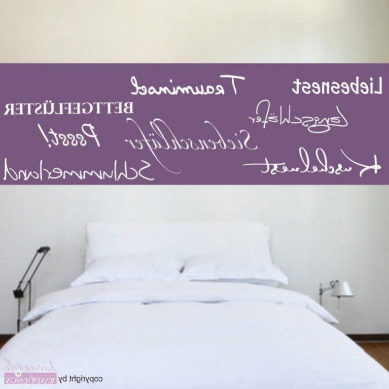Kühles Moderne Dekoration Wunderbar Wandtattoos Selber Machen Avec von Wandtattoo Schlafzimmer Selber Malen Photo