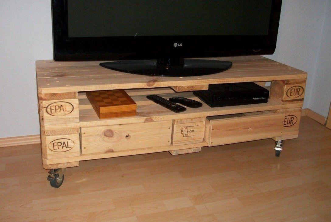 Tvboard aus europalette tv rack made of euro pallet upcycling von tv schrank aus paletten photo - Europaletten schrank ...