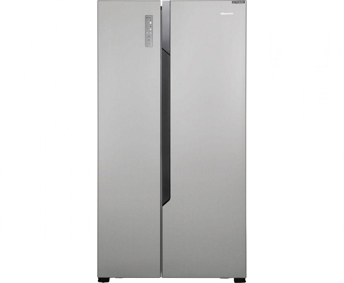 Kundenbewertungen  Hisense Rs670N4Bc2 Sidebyside Edelstahloptik von Kühlschrank Ohne Gefrierfach Freistehend Bild