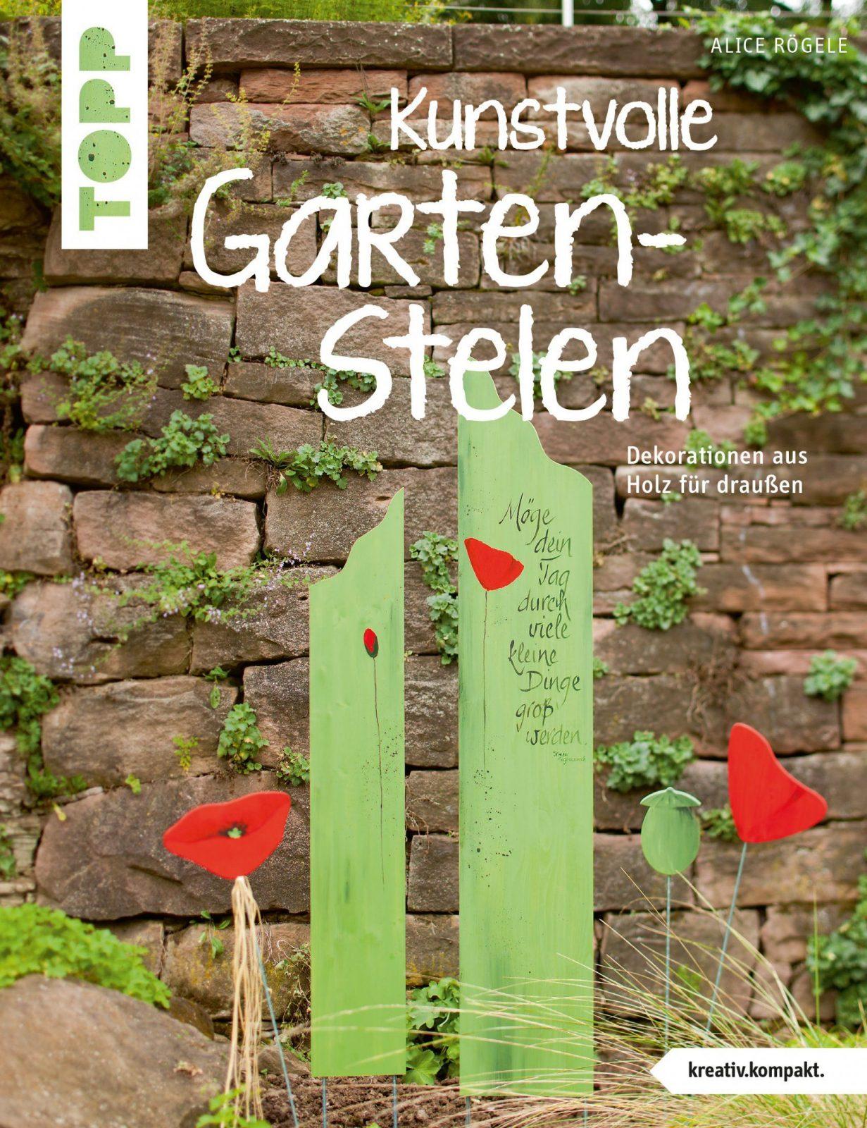 Kunstvolle Gartenstelen  Garten & Balkon & Pflanzen  Wohnen von Holzstelen Für Den Garten Photo