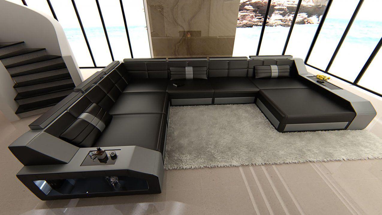 Maravilloso Sofa Xxl U Form 2 Wohnlandschaft Design Nzcen 92848 Von