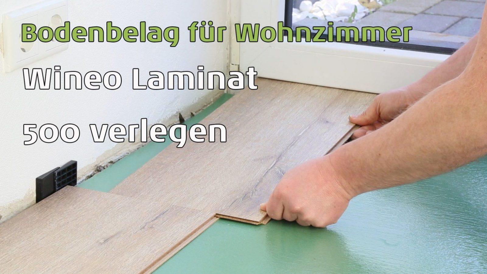 Laminat 500 Wineo Smallmediumlargexl Verlegen  Youtube von Laminat Verlegen Anleitung Video Bild