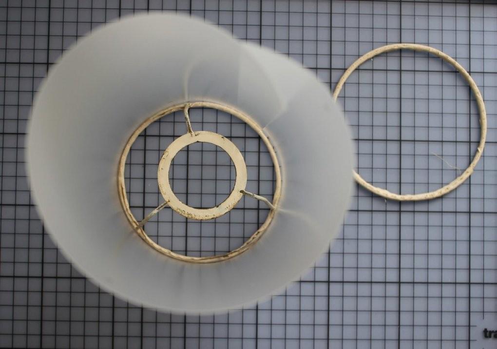 Lampenschirm Selber Machen Anleitung  Afdecker von Lampenschirm Gestell Selber Machen Bild