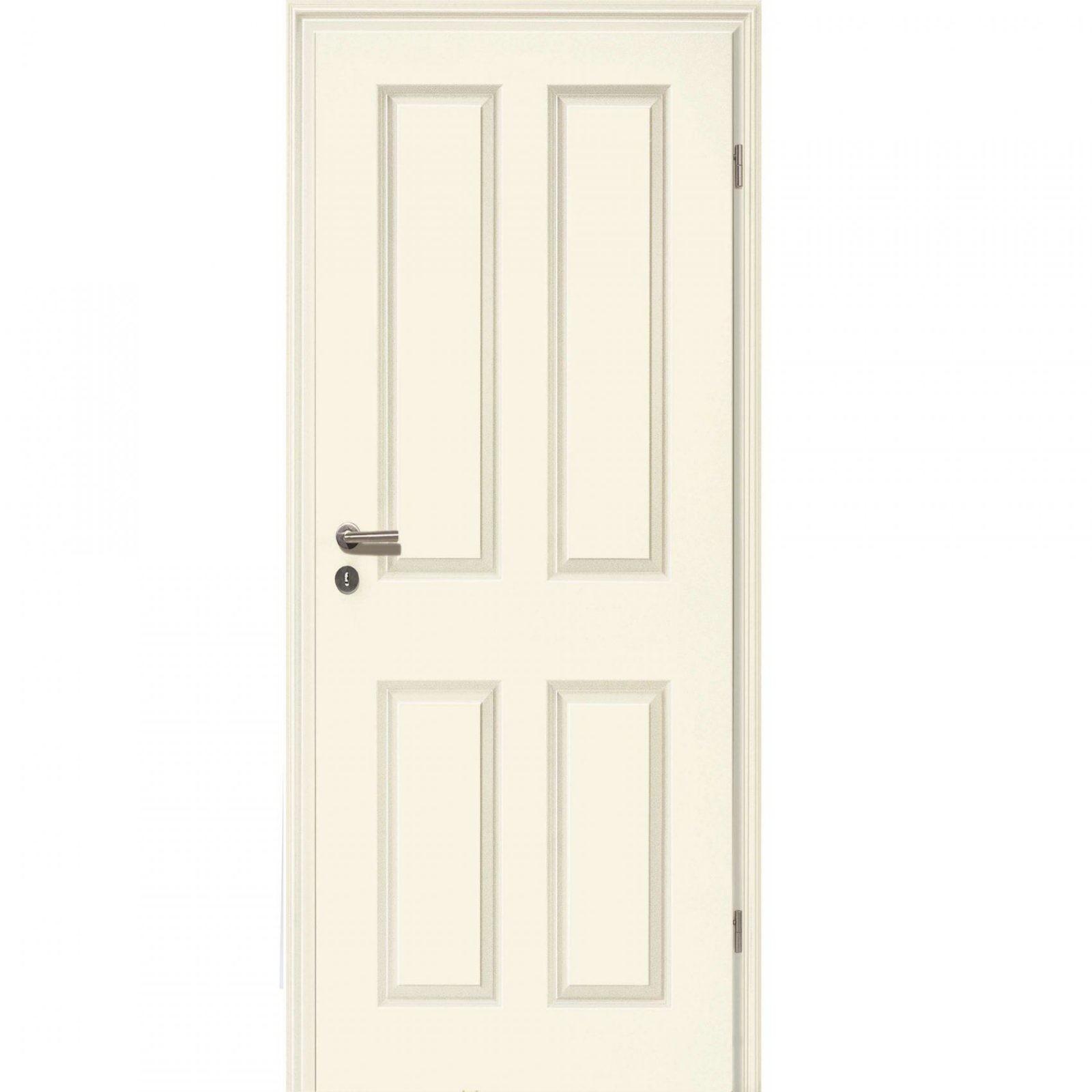 Landhaus Stiltüren Weißlack Profilierte Zarge  Kpholzshop von Zimmertüren Mit Zarge Restposten Photo