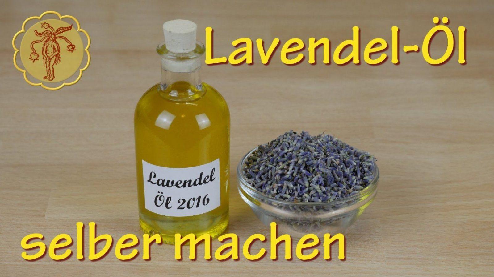 Lavendelölauszug Selber Machen  Kaltauszug  Youtube von Lavendel Creme Selber Machen Photo