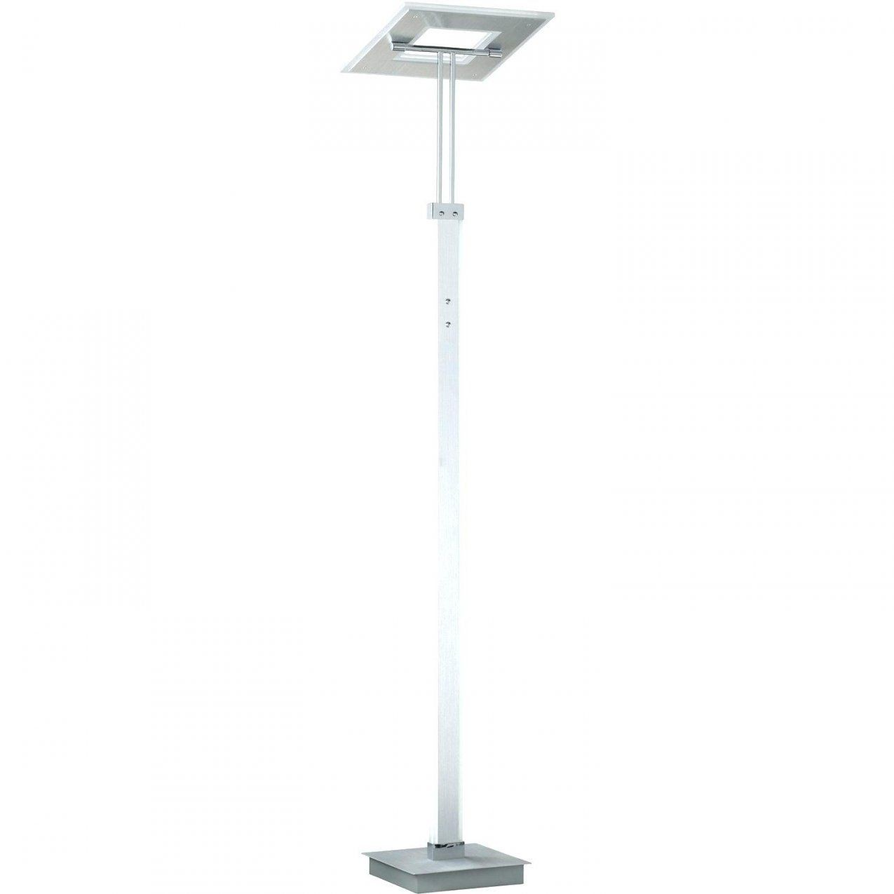 Led Deckenfluter Dimmbar Mit Leseleuchte Floor Nickel Matt 180 Cm von Led Deckenfluter Dimmbar Mit Leseleuchte Messing Photo