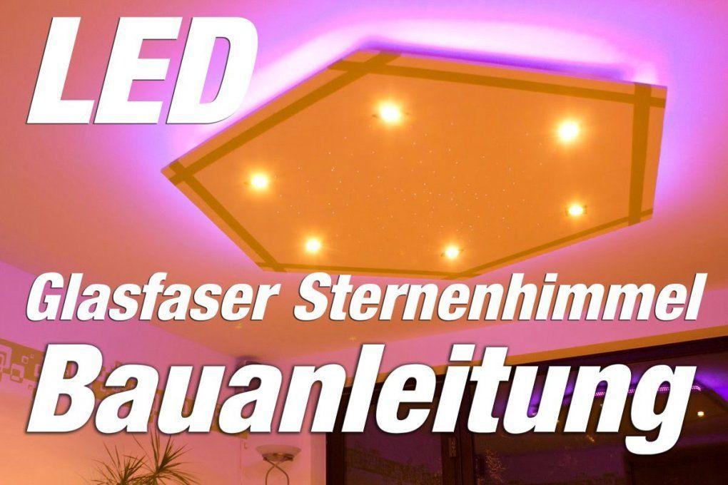 Led Deckenleuchte Selber Bauen Led Glasfaser Hexagon Youtube Mit von Led Deckenlampe Selber Bauen Bild