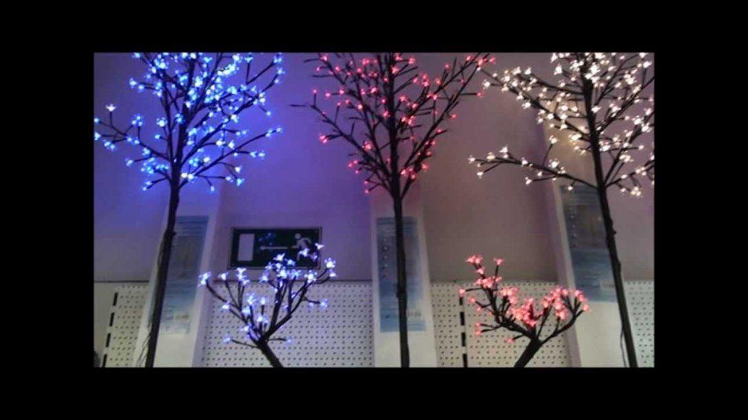 Led Lichterbaum  Youtube von Led Leinwandbild Selber Machen Bild