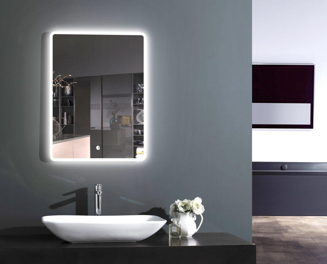 Led Lichtspiegel Badspiegel Wandspiegel Badezimmerspiegel Mit von Badspiegel Mit Beleuchtung Und Steckdose Photo