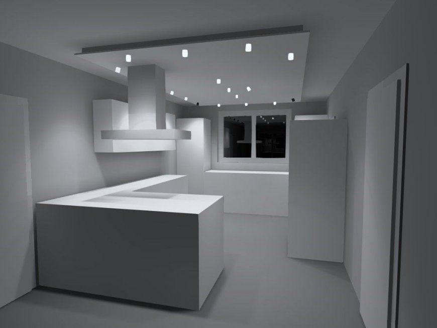 Led Spots Mit Abgehängter Decke  Küchen  Pinterest  Ceiling von Led Spots Decke Küche Bild