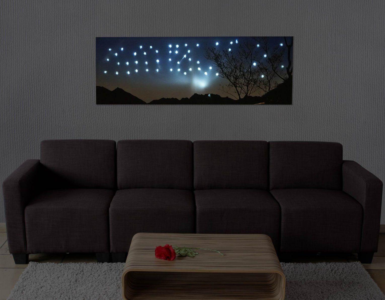 Ledbild Mit Beleuchtung Leinwandbild Leuchtbild Wandbild  100X35Cm von Led Leinwandbild Selber Machen Photo