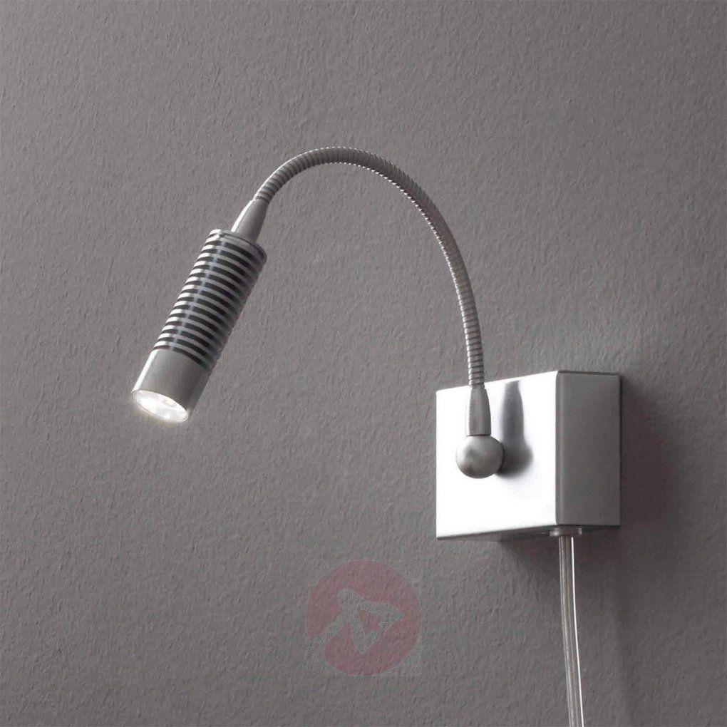 Look Me Ledwandleuchte Mit Stecker U Schalter Kaufen  Lampenwelt von Wandlampen Mit Schalter Und Kabel Bild