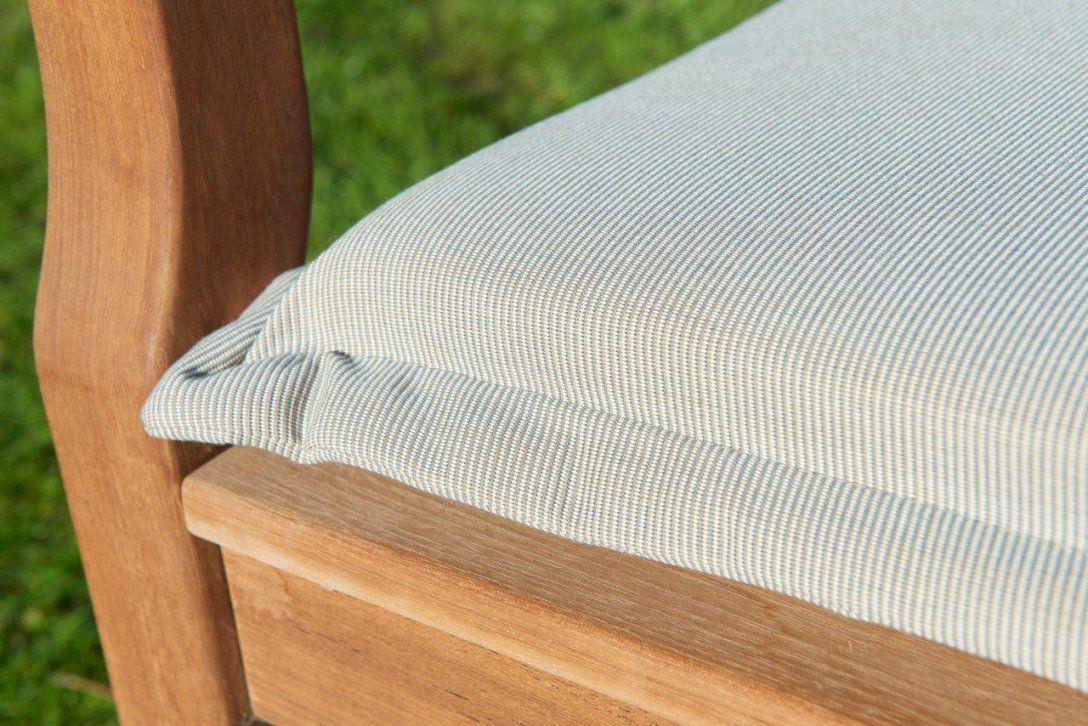 Luxe Bankpolster Destiny 130 Cm Struktur Uni Colors Kissen Auflage von Gartenbank Auflage 130 Cm Bild