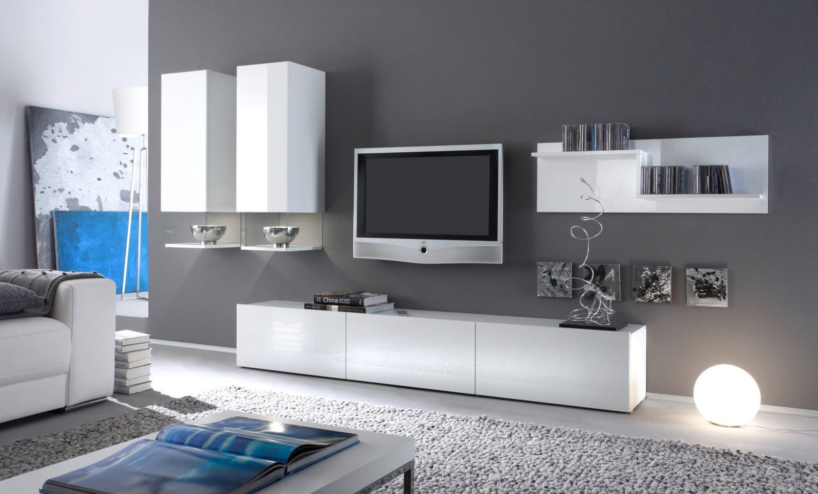 Luxuriös 43 Wohnwand Weiß Ikea Dekoration Bilder Ideen Zum Wohnwand von Wohnwand Weiß Hochglanz Ikea Photo