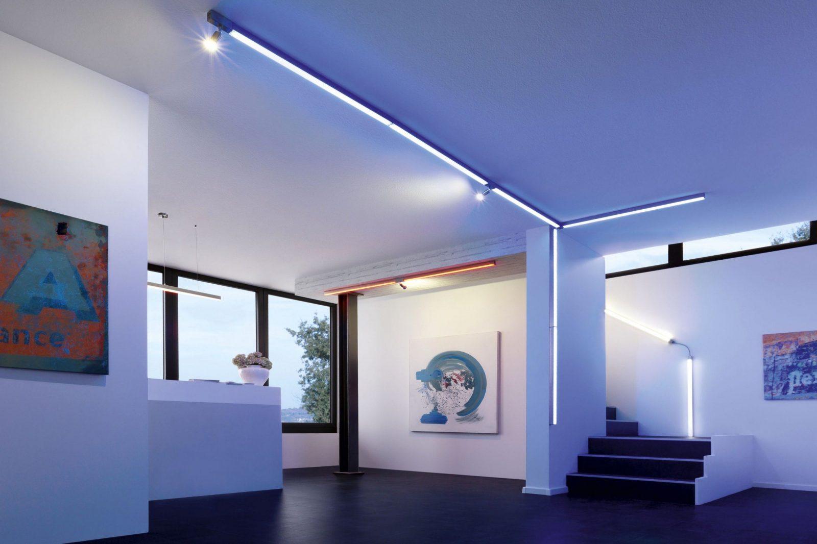 Luxuri s stilvolle lampe flur decke attraktiv mit led - Lampe flur decke ...