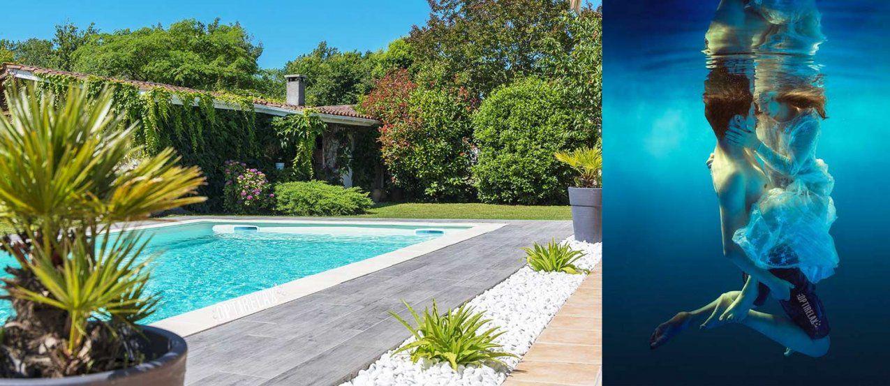 Luxus Pools & Schwimmbecken Kaufen  Optirelax® von Pool Im Garten Integrieren Bild
