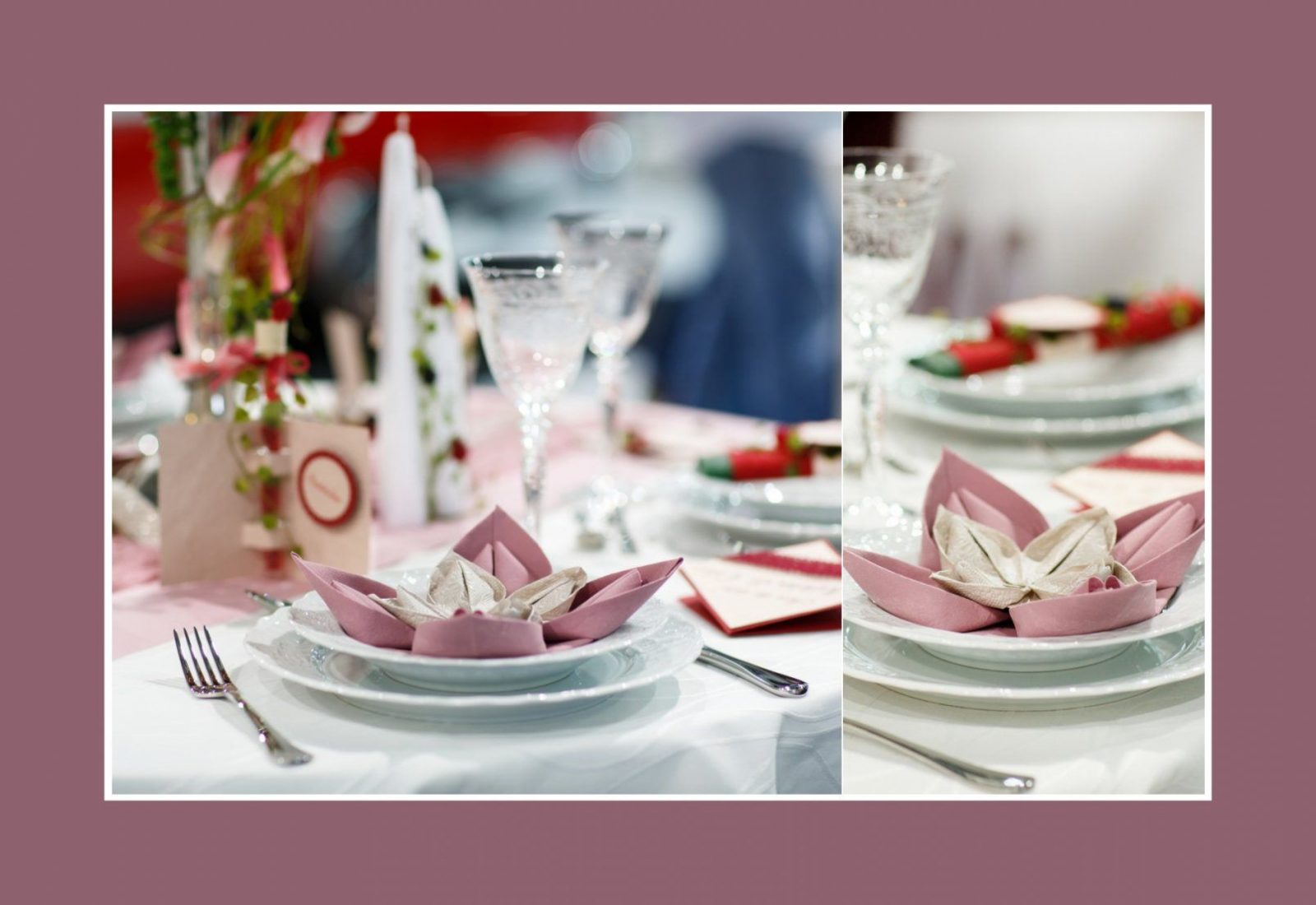 Luxus Servietten Falten Zweifarbig Design von Servietten Falten Hochzeit Zweifarbig Bild