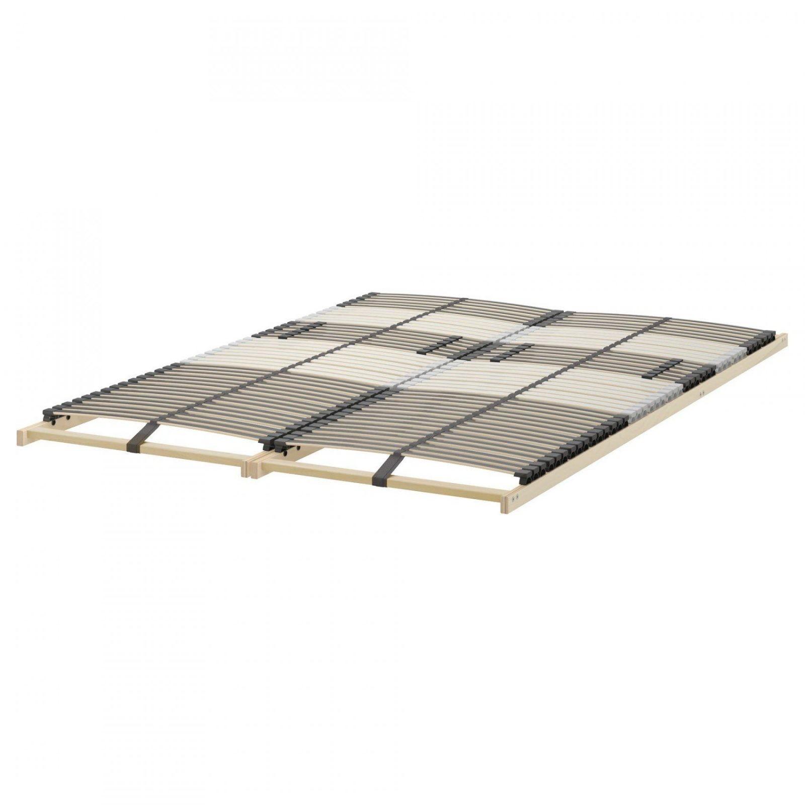 Malm Bedframe Hoog Met 2 Bedlades Zwartbruinleirsund 180X200 Cm von Ikea Malm Bett 90X200 Bild