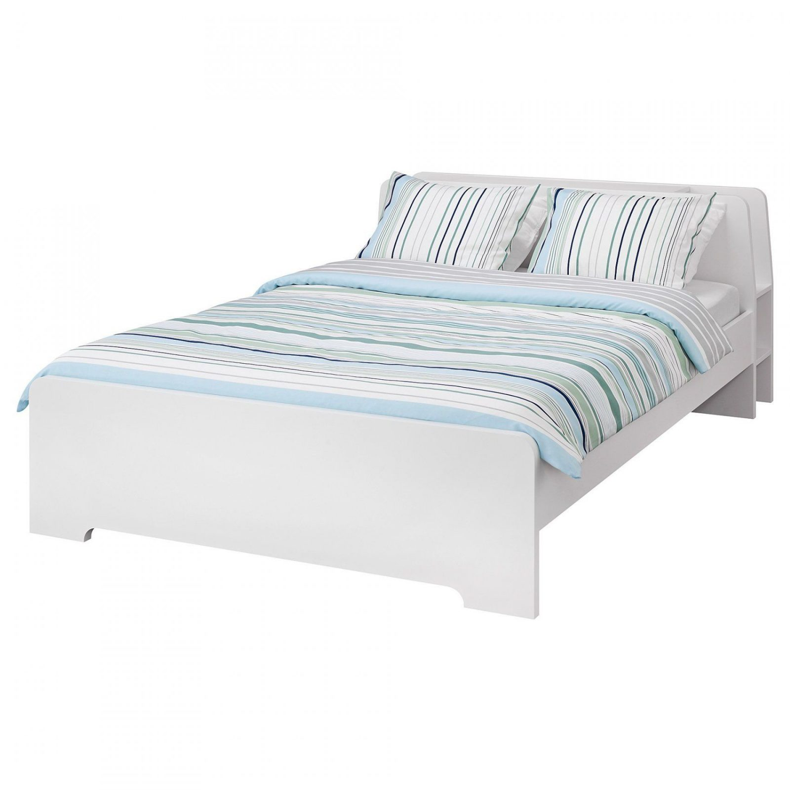 Malm Bettgestell Hoch  160X200 Cm  Weiß  Ikea von Ikea Malm Bett 160X200 Birke Bild
