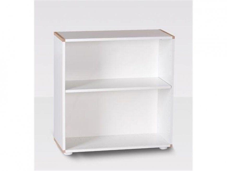 Manish Bücherregal Mdf Weiß Oder Anthrazit Höhe 70Cm  123Moebel von Regal 80 Cm Hoch Bild