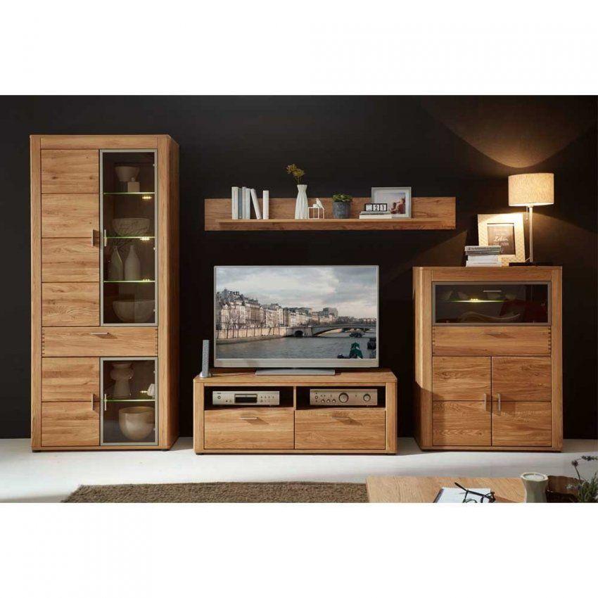 Massivholz Wohnwände Online Kaufen  Pharao24™ von Wohnwand 220 Cm Breit Photo
