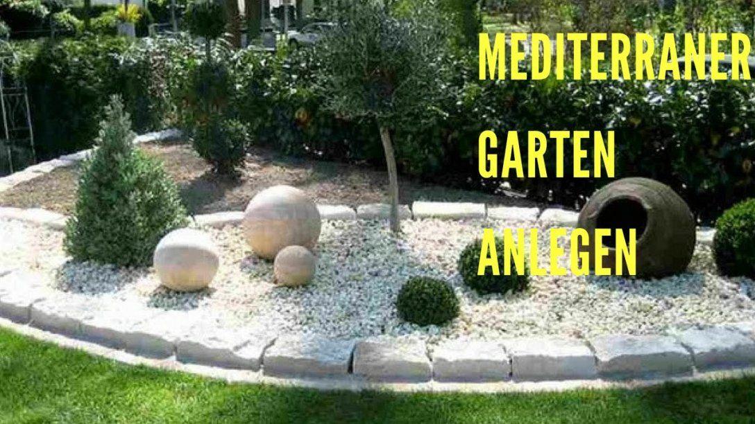 Mediterraner Garten Anlegen  Youtube von Mediterranen Garten Anlegen Fotos Photo