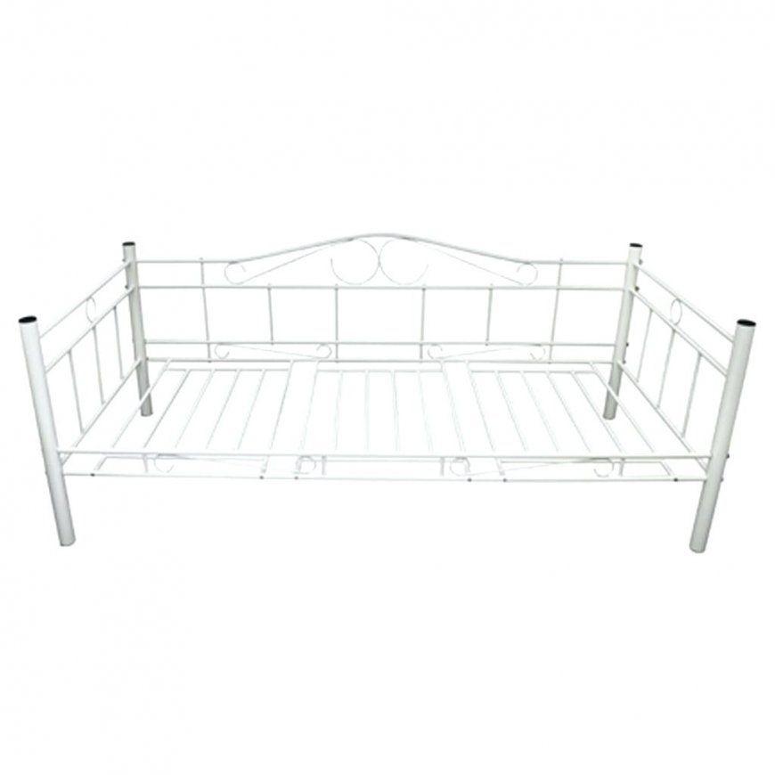Metallbett 90×200 Hausliche Verbesserung Polsterbett Mit Bettkasten von Metallbett 90X200 Weiß Ikea Photo