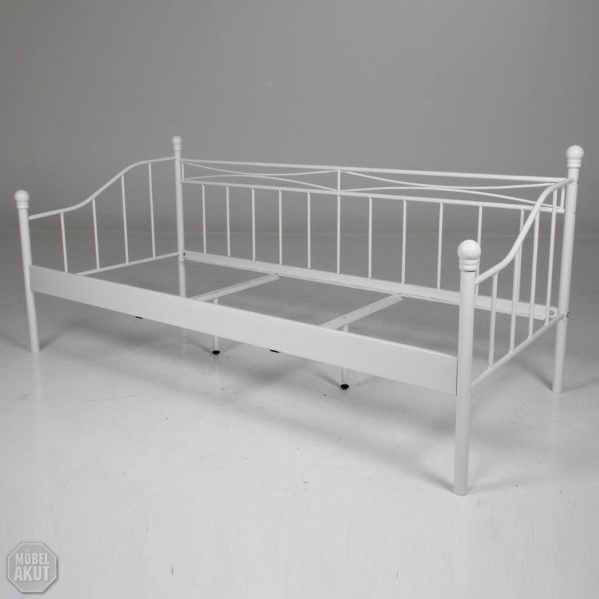 Metallbett Weiß Tromsnes Ikea – Thescottishindependent von Bett Metall Weiß 90X200 Photo