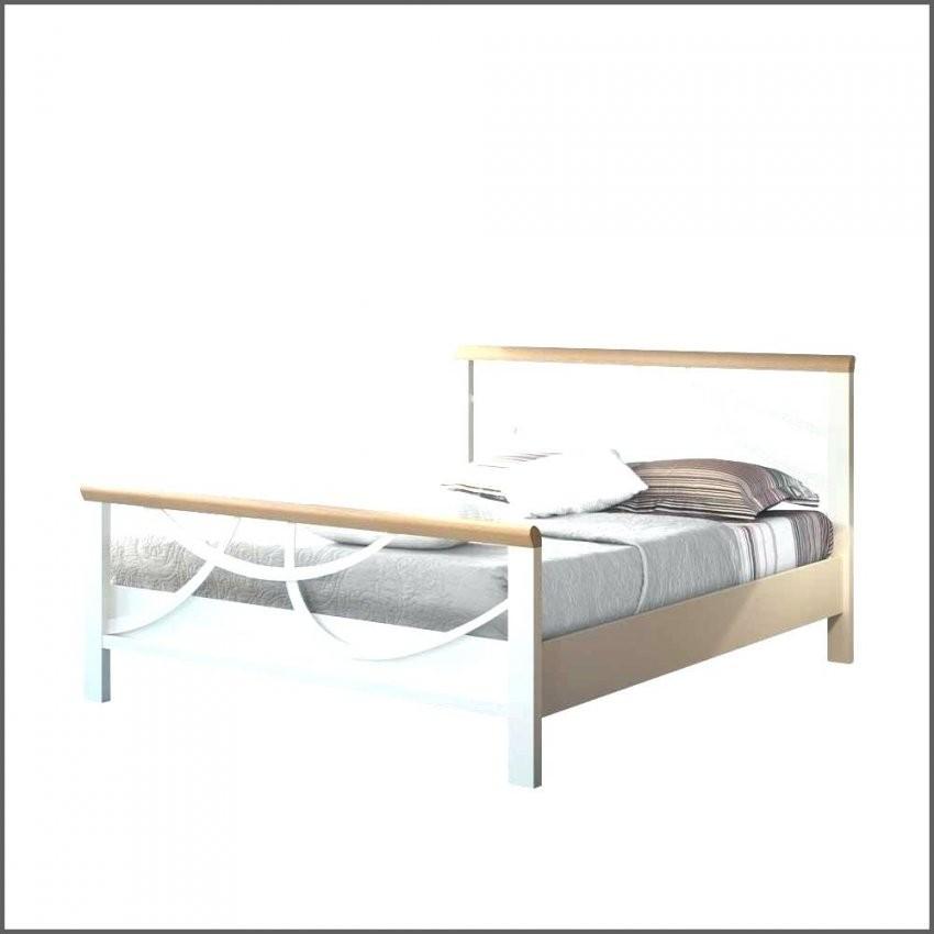 Metallbett Weiss Design Weia Mit Eiche Massivholz Lumbarda Ikea Von von Metallbett 90X200 Weiß Ikea Bild