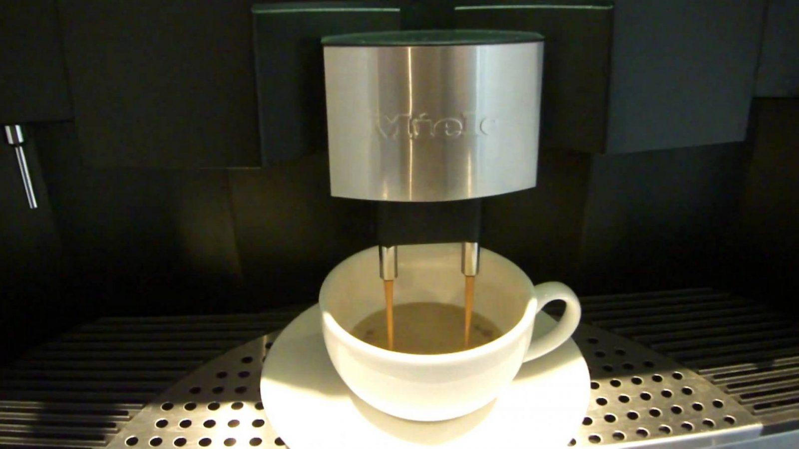 Miele Cva 6201 Making Coffee  Youtube von Miele Kaffeevollautomat Cva 620 Photo