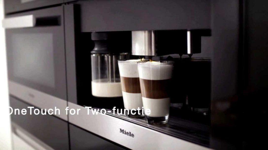 Mieleinbouwkoffiemachines Met Maalsysteem  Youtube von Miele Kaffeevollautomat Cva 620 Photo