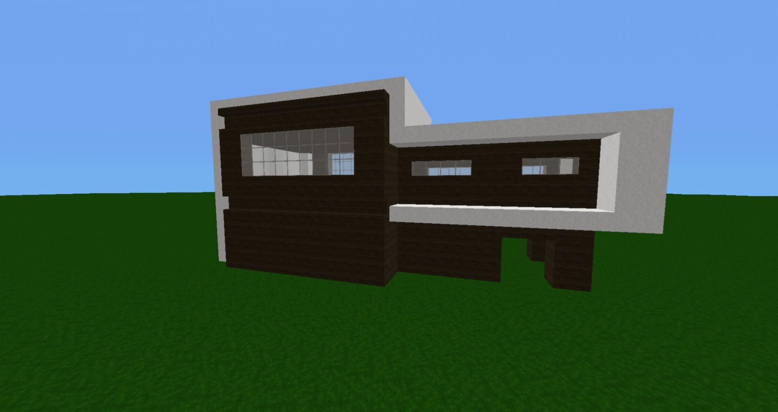 Minecraft Bauplan Modernes Haus Mulenja Co Avec Minecraft Villa von Minecraft Modernes Haus Bauplan Bild